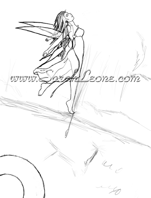 Fall-Fairy-Sketch For Web